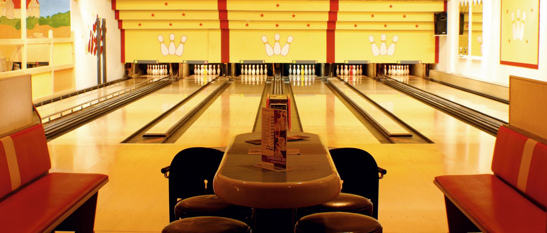 Bowling am Schloss BAHN